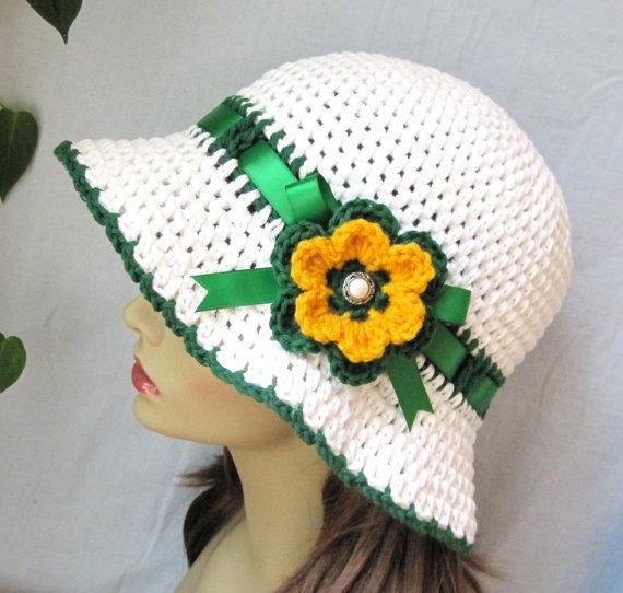 Sombrero para mujer color verde | Yo Utilísima