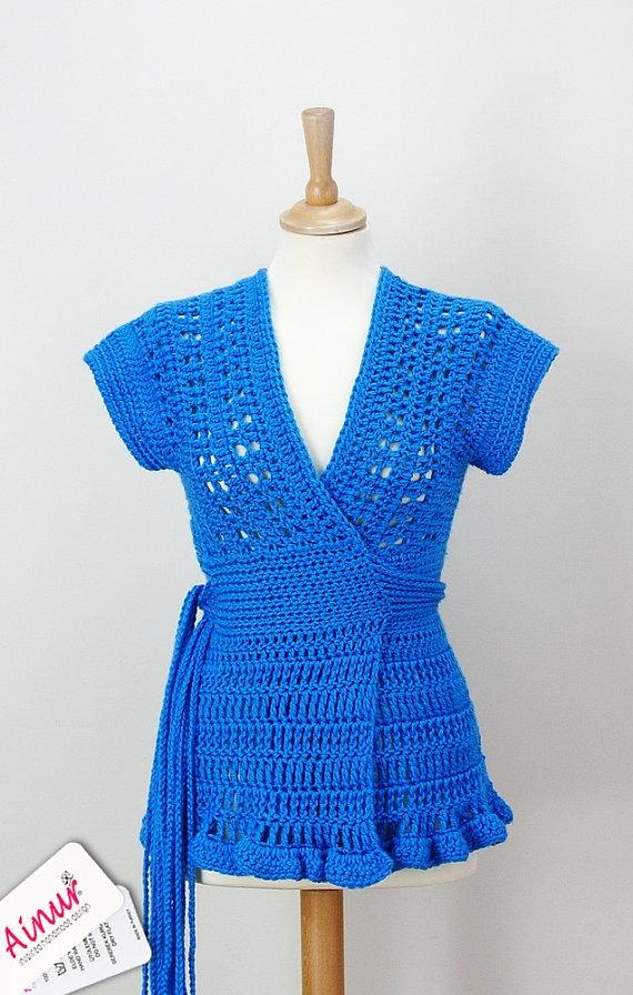 Si te interesa adquirir este lindo chaleco ingresa a Etsy.com a ...