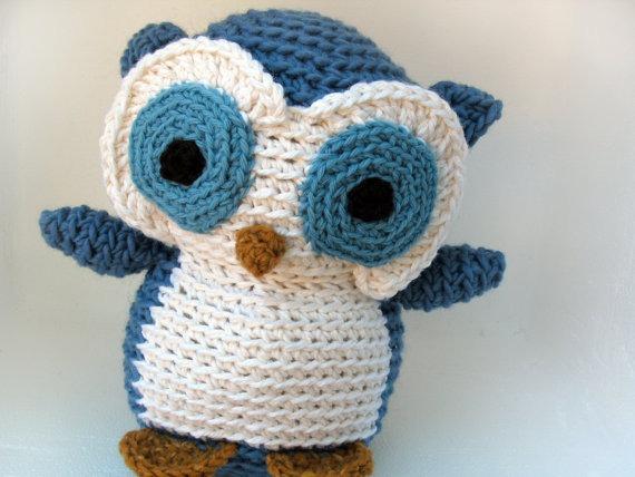 Tejidos en crochet para bebe, buhos | Yo Utilísima