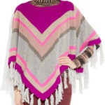 Hermoso poncho de lana