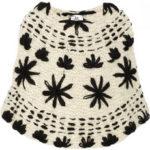Elegante poncho tejido en net-a-porter.com