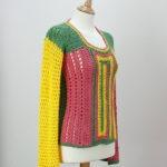 Suéter tejido a crochet en Etsy.com