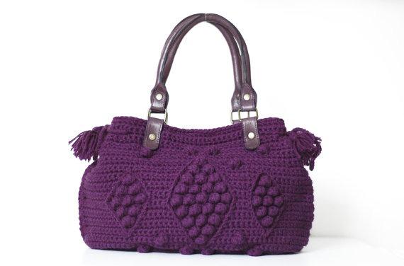 Bolsas De Tejido Crochet