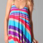 Vestido a rayas de colores