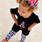 Ropa para niña estilo Zebra