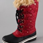 Botas impermeables con peluche para mujer