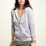 Ropa casual para dama 2012: Sudaderas con capucha