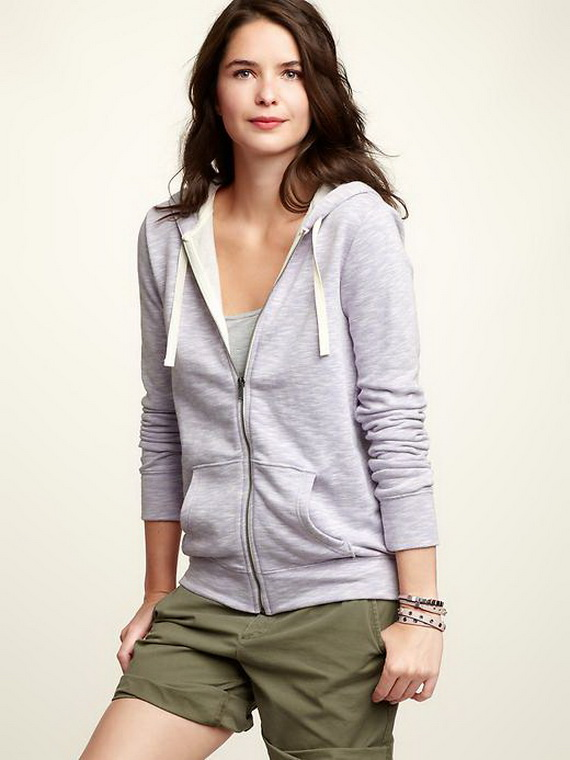 Ropa casual para dama 2012: Sudaderas con capucha | Yo Utilísima
