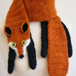 Bufandas a crochet para mujer