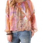 Blusa de moda 2012 primavera