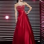 Vestidos de fiesta 2012 color rojo