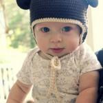 Sombreros con orejas para bebes