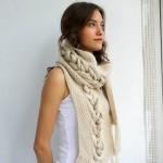Bufandas de moda para mujer