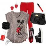 Looks para vestir con Minie y Mickey