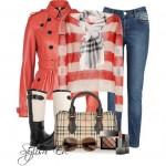 Ideas para vestir ropa a rayas