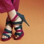 Tendencias de zapatos modernos y de moda