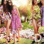 Coloridos vestidos florales de verano