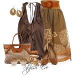 Estilos para usar ropa marrón