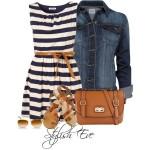 Como combinar tus trajes a rayas para otoño