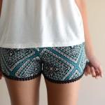 Shorts de verano floral 2015