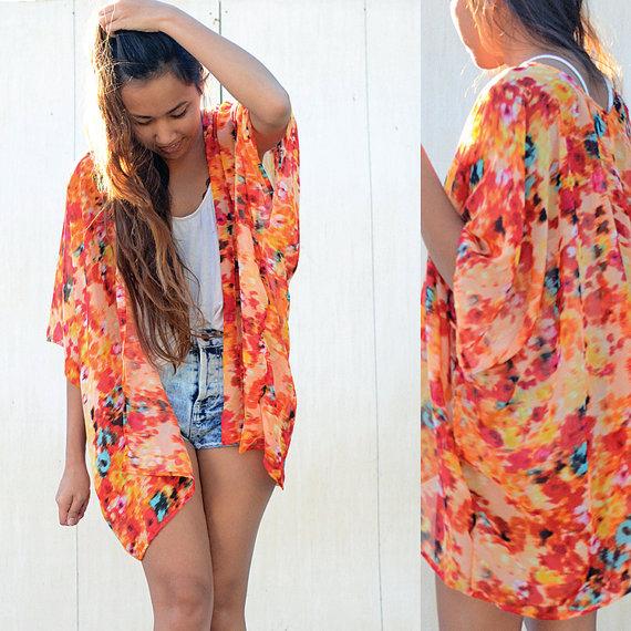 Utilisima Lenceria De Baño:Kimonos de moda para el verano 2015