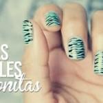 Diseña tus uñas fáciles y bonitas con los pasos mas sencillos que has podido imaginar
