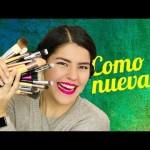 Limpia tus brochas de maquillaje y déjalas como nuevas