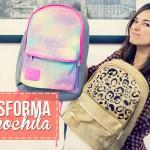 Transforma tu mochila y regresa a clases con una nueva!