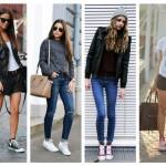 Si te encantan las Converse, aquí los mejores outfits para combinarlas de la mejor forma!