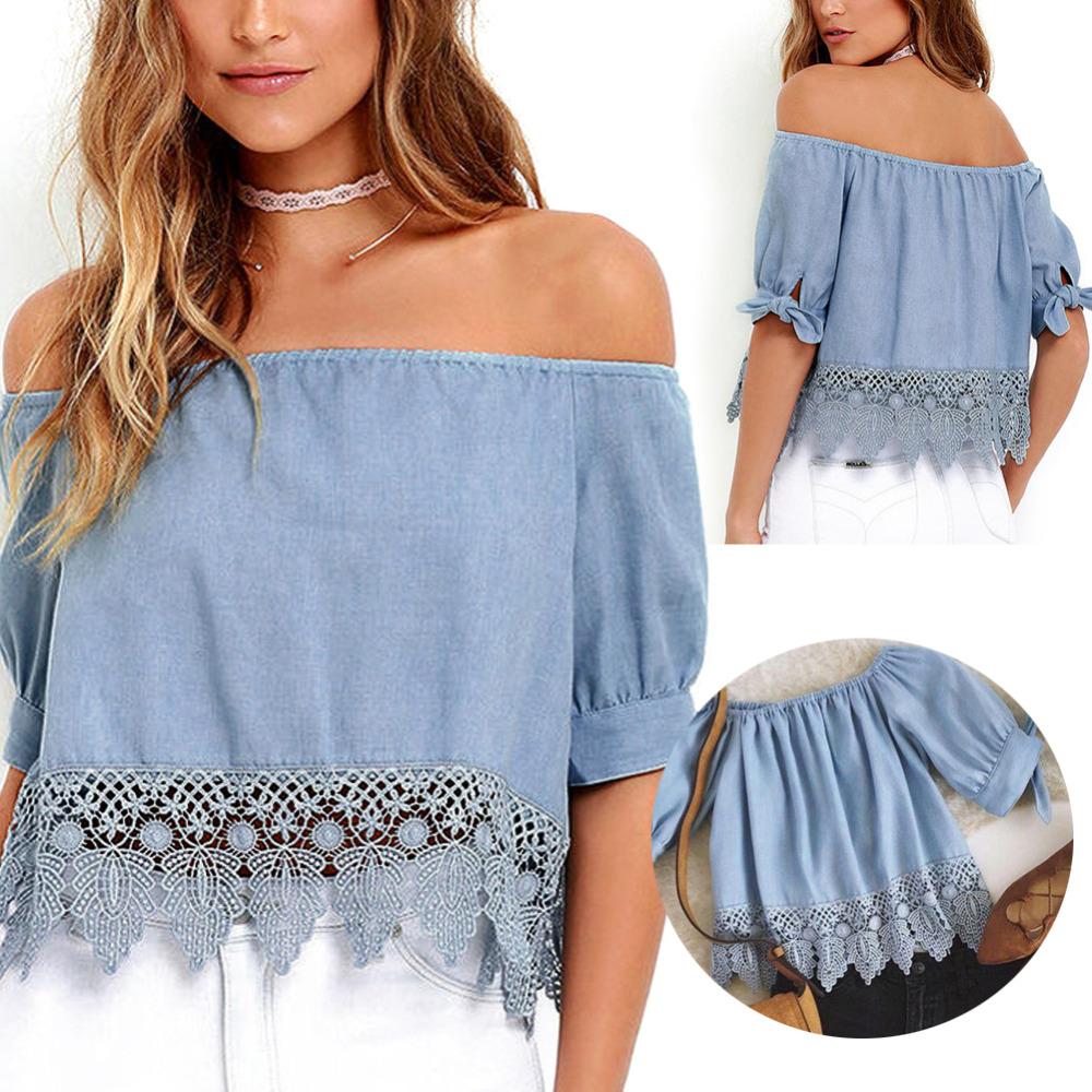 new-2016-women-sexy-off-shoulder-ruffle-blouses-crop-tops-summer-casual-font-b-denim-b