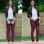 Amas el color vino? Aquí los mejores outfits!