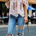 Outfits en tendencia con pantalones rasgados!