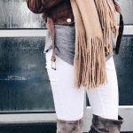 Outfits con botas encima de la rodilla para invierno