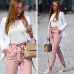 Tendencias: Los hermosos pantalones con lazo en la cintura