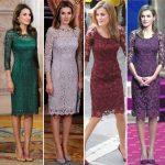 Vestidos de encaje elegantes en tendencia