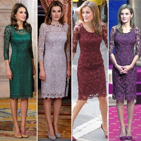 Vestidos De Encaje Elegantes En Tendencia Yo Utilísima